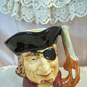 SALE Staffordshire Shorter & Son Ltd. Dick Turpin Toby Mug Hand Painted