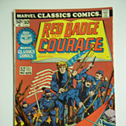 Marvel Classics Comics No. 10: Red Badge of Courage 1976