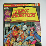 Marvel Classics Comics No. 12: The Three Musketeers 1976