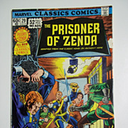 Marvel Classics Comics No. 29: The Prisoner of Zenda 1977