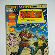 Marvel Classics Comics No. 20: Frankenstein 1977