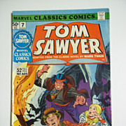 Marvel Classics Comics No. 7 Vol. 1 Tom Sawyer 1976