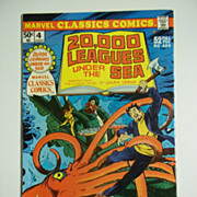 Marvel Classics Comics No. 4: 20,000 Leagues Under the Sea 1976