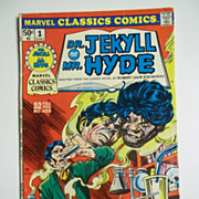 Marvel Classics Comics No. 1: Dr. Jekyll and Mr. Hyde 1976