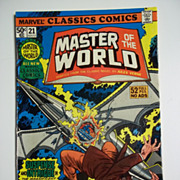 Marvel Classics Comics No. 21: Master of the World 1977