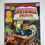 Marvel Classics Comics No. 25: The Invisible Man 1977