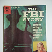SOLD Dell Comics Movie Classics The FBI Story No. 1069 1959