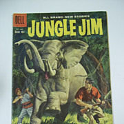 Dell Comics Jungle Jim No. 18 1958