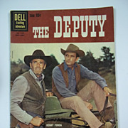 Dell Comics The Deputy No. 1130 1960