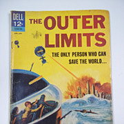 Dell Comics The Outer Limits No. 6 1965