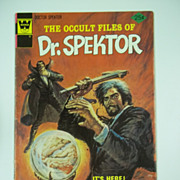 Whitman Comics The Occult Files of Dr. Spektor No. 15 1975