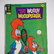 SOLD Gold Key Comics Woody Woodpecker no. 146 1975