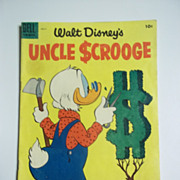 Dell Comics Walt Disney ' s Uncle Scrooge No. 9 1955