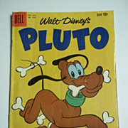 Dell Comics Walt Disney's Pluto No. 1039 1960