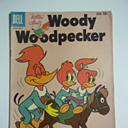 SOLD Dell Comics Walter Lantz Woody Woodpecker No. 60 1960