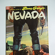 Dell Comics Zane Grey's Nevada Picturized Edition No. 412 1952
