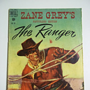 Dell Comics Zane Grey's The Ranger Picturized Edition No. 255 1949