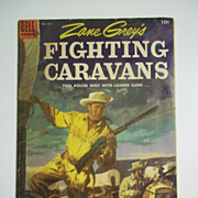 Dell Comics Zane Grey's Fighting Caravans No. 632 1955