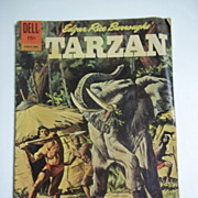 Dell Comics Edgar Rice Burroughs' Tarzan Vol. 1 No. 130 June 1962