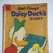 Dell Comics Walt Disney's Daisy Duck's Diary No. 1150 1961