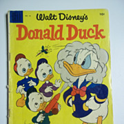 Dell Comics Walt Disney's Donald Duck No. 42 1955