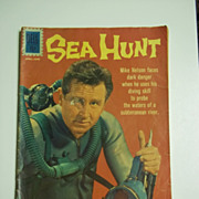 Dell Comics Sea Hunt No. 13 1962