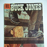 Dell Comics Buck Jones No. 733 1956