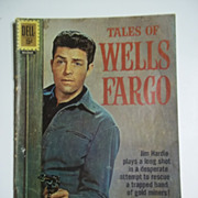 Dell Comics Tales of Wells Fargo No. 1215 1961