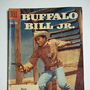 Dell Comics Buffalo Bill Jr. No. 13 1959