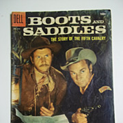 Dell Comics Boots and Saddles No. 919 1958