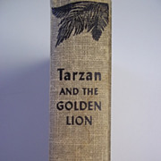 Tarzan and the Golden Lion Edgar Rice Burroughs Grosset and Dunlap ca.1950's Hardcover