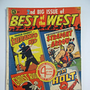 Best of the West No. 2 ( A-1 No. 46 ) 1951 Magazine Enterprises