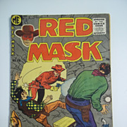 Red Mask No. 48 1955 Magazine Enterprises Comics