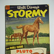 Dell Comics Walt Disney's Stormy No. 537 1954