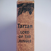 Tarzan Lord of the Jungle Edgar Rice Burroughs Grosset & Dunlap ca. 1950s Hardcover