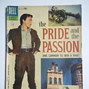 Dell Movie Classics Comic The Pride and the Passion No. 824 1957