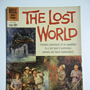 Dell Movie Classics The Lost World No. 1145 1960
