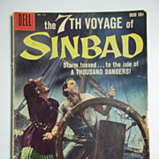SOLD Dell Movie Classics Comics 7th Voyage of Sinbad No. 944 1958