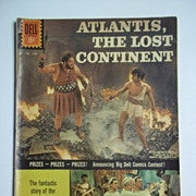 Dell Movie Classics Comic Atlantis The Lost Continent No. 1188 1961