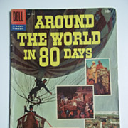Dell Movie Classics Comic Around the World in 80 Days No. 784, 1956