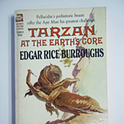 Tarzan at the Earth's Core Edgar Rice Burroughs Pellucidar Series Ace Books Paperback