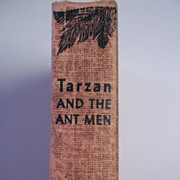 Tarzan and the Ant Men Edgar Rice Burroughs Grosset & Dunlap ca. 1950s Hardcover