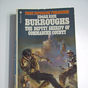 The Deputy Sheriff of Commanche County Edgar Rice Burroughs 1st Ace Paperback Edition Frazetta