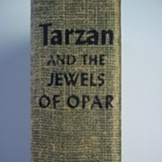 Tarzan and the Jewels of Opar Edgar Rice Burroughs Grosset & Dunlap ca. 1950s Hardcover