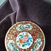 SOLD Vintage Stratton Peacock Compact