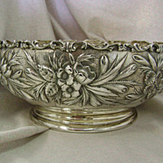 9 3/16 inch STERLING Silver Repose Bowl