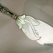10 inch Sterling Silver  Ice Cream Server