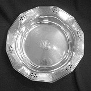 Durgin Pierced and Engraved Bowl