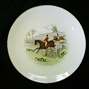 SALE Eight 9 inch Minton Hunting plates