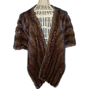 SALE Light Ranch Mink Stole